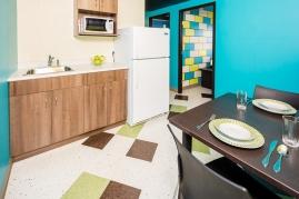 VIP Room, Kitchenette