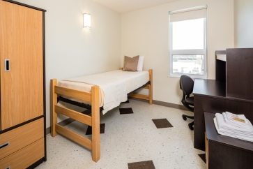 Double dorm bedroom 2
